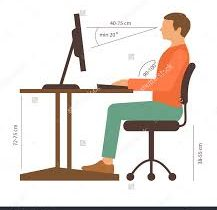 Computer Posture- How should we sit